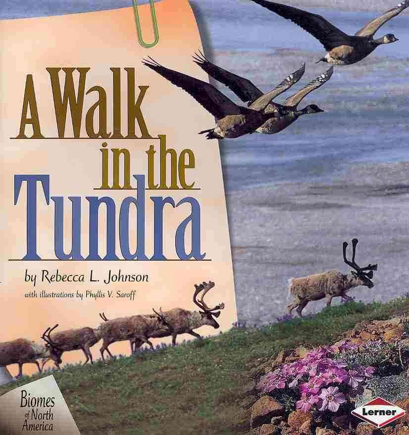 A Walk in the Tundra By Johnson, Rebecca L./ Saroff, Phyllis V. (ILT)